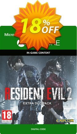 Resident Evil 2 Extra DLC Pack Xbox One Coupon discount Resident Evil 2 Extra DLC Pack Xbox One Deal - Resident Evil 2 Extra DLC Pack Xbox One Exclusive Easter Sale offer for iVoicesoft