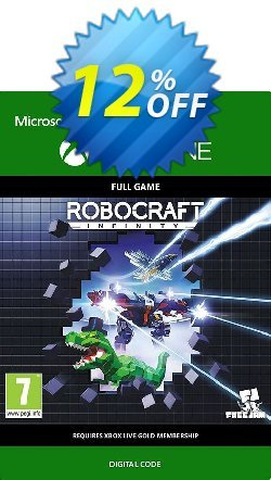 Robocraft Infinity Xbox One Coupon, discount Robocraft Infinity Xbox One Deal. Promotion: Robocraft Infinity Xbox One Exclusive Easter Sale offer for iVoicesoft