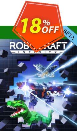 Robocraft Infinity Xbox One BETA Coupon discount Robocraft Infinity Xbox One BETA Deal - Robocraft Infinity Xbox One BETA Exclusive Easter Sale offer for iVoicesoft