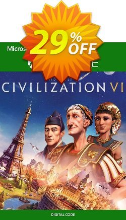 Sid Meier's Civilization VI 6 Xbox One - UK  Coupon discount Sid Meier's Civilization VI 6 Xbox One (UK) Deal - Sid Meier's Civilization VI 6 Xbox One (UK) Exclusive Easter Sale offer for iVoicesoft