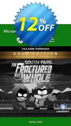 South Park: The Fractured but Whole Digital Gold Edition Xbox One Coupon discount South Park: The Fractured but Whole Digital Gold Edition Xbox One Deal - South Park: The Fractured but Whole Digital Gold Edition Xbox One Exclusive Easter Sale offer for iVoicesoft