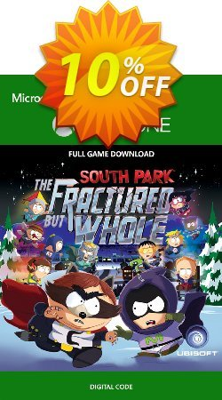 South Park: The Fractured but Whole Xbox One Coupon discount South Park: The Fractured but Whole Xbox One Deal - South Park: The Fractured but Whole Xbox One Exclusive Easter Sale offer for iVoicesoft