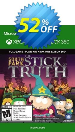 South Park The Stick of Truth - Xbox 360 / Xbox One Coupon discount South Park The Stick of Truth - Xbox 360 / Xbox One Deal - South Park The Stick of Truth - Xbox 360 / Xbox One Exclusive Easter Sale offer for iVoicesoft