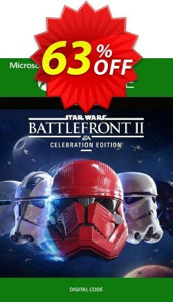 Star Wars Battlefront II 2 - Celebration Edition Xbox One - UK  Coupon discount Star Wars Battlefront II 2 - Celebration Edition Xbox One (UK) Deal - Star Wars Battlefront II 2 - Celebration Edition Xbox One (UK) Exclusive Easter Sale offer for iVoicesoft