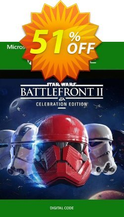 Star Wars Battlefront II 2 - Celebration Edition Xbox One - US  Coupon discount Star Wars Battlefront II 2 - Celebration Edition Xbox One (US) Deal - Star Wars Battlefront II 2 - Celebration Edition Xbox One (US) Exclusive Easter Sale offer for iVoicesoft
