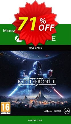 Star Wars Battlefront II Xbox One - UK  Coupon discount Star Wars Battlefront II Xbox One (UK) Deal - Star Wars Battlefront II Xbox One (UK) Exclusive Easter Sale offer for iVoicesoft