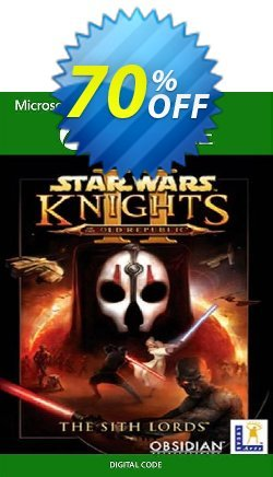 Star Wars - Knights of the Old Republic II: The Sith Lords Xbox One/ Xbox 360 Coupon discount Star Wars - Knights of the Old Republic II: The Sith Lords Xbox One/ Xbox 360 Deal - Star Wars - Knights of the Old Republic II: The Sith Lords Xbox One/ Xbox 360 Exclusive Easter Sale offer for iVoicesoft