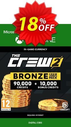 The Crew 2 Bronze Crew Credits Pack Xbox One Coupon discount The Crew 2 Bronze Crew Credits Pack Xbox One Deal - The Crew 2 Bronze Crew Credits Pack Xbox One Exclusive Easter Sale offer for iVoicesoft