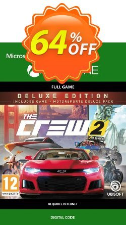 The Crew 2 Deluxe Edition Xbox One Coupon discount The Crew 2 Deluxe Edition Xbox One Deal - The Crew 2 Deluxe Edition Xbox One Exclusive Easter Sale offer for iVoicesoft