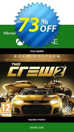 The Crew 2 Gold Edition Xbox One Coupon discount The Crew 2 Gold Edition Xbox One Deal - The Crew 2 Gold Edition Xbox One Exclusive Easter Sale offer for iVoicesoft