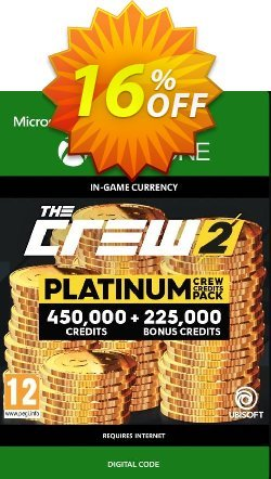 The Crew 2 Platinum Crew Credits Pack Xbox One Coupon discount The Crew 2 Platinum Crew Credits Pack Xbox One Deal - The Crew 2 Platinum Crew Credits Pack Xbox One Exclusive Easter Sale offer for iVoicesoft