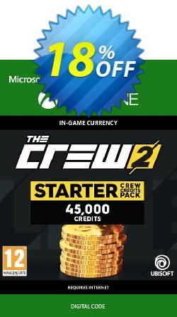 The Crew 2 Starter Crew Credits Pack Xbox One Coupon discount The Crew 2 Starter Crew Credits Pack Xbox One Deal - The Crew 2 Starter Crew Credits Pack Xbox One Exclusive Easter Sale offer for iVoicesoft