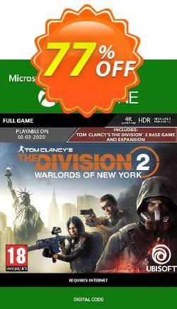 The Division 2 - Warlords of New York Edition Xbox One Coupon discount The Division 2 - Warlords of New York Edition Xbox One Deal - The Division 2 - Warlords of New York Edition Xbox One Exclusive Easter Sale offer for iVoicesoft