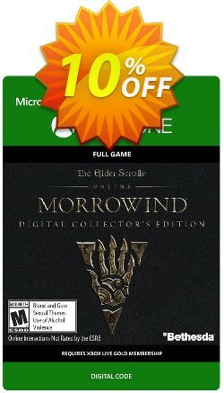 The Elder Scrolls Online Morrowind Collectors Edition Xbox One Coupon discount The Elder Scrolls Online Morrowind Collectors Edition Xbox One Deal - The Elder Scrolls Online Morrowind Collectors Edition Xbox One Exclusive Easter Sale offer for iVoicesoft
