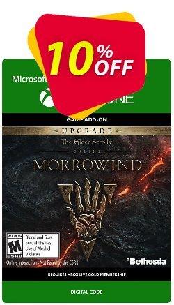The Elder Scrolls Online Morrowind Upgrade Xbox One Coupon discount The Elder Scrolls Online Morrowind Upgrade Xbox One Deal - The Elder Scrolls Online Morrowind Upgrade Xbox One Exclusive Easter Sale offer for iVoicesoft