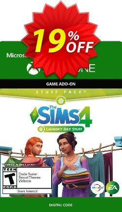 The Sims 4: Laundry Day Stuff Xbox One Coupon discount The Sims 4: Laundry Day Stuff Xbox One Deal - The Sims 4: Laundry Day Stuff Xbox One Exclusive Easter Sale offer for iVoicesoft