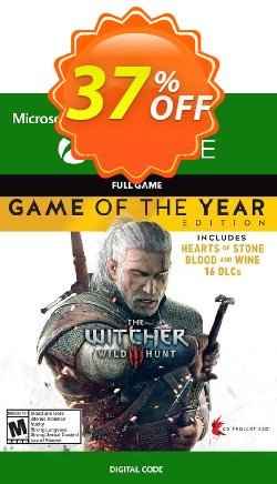 The Witcher 3: Wild Hunt – Game of the Year Edition Xbox One - US  Coupon discount The Witcher 3: Wild Hunt – Game of the Year Edition Xbox One (US) Deal - The Witcher 3: Wild Hunt – Game of the Year Edition Xbox One (US) Exclusive Easter Sale offer for iVoicesoft