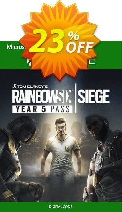 Tom Clancy's Rainbow Six Siege - Year 5 Pass Xbox One Coupon discount Tom Clancy's Rainbow Six Siege - Year 5 Pass Xbox One Deal - Tom Clancy's Rainbow Six Siege - Year 5 Pass Xbox One Exclusive Easter Sale offer for iVoicesoft