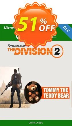 Tom Clancy's The Division 2 Xbox One - Tommy the Teddy Bear DLC Coupon discount Tom Clancy's The Division 2 Xbox One - Tommy the Teddy Bear DLC Deal - Tom Clancy's The Division 2 Xbox One - Tommy the Teddy Bear DLC Exclusive Easter Sale offer for iVoicesoft