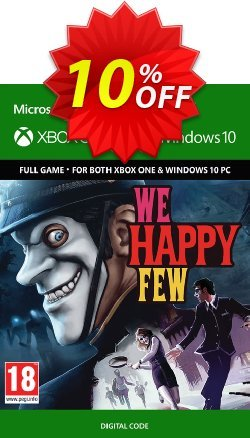We Happy Few Xbox One / PC Coupon discount We Happy Few Xbox One / PC Deal - We Happy Few Xbox One / PC Exclusive Easter Sale offer for iVoicesoft