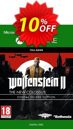 Wolfenstein 2: The New Colossus Digital Deluxe Edition Xbox One Coupon discount Wolfenstein 2: The New Colossus Digital Deluxe Edition Xbox One Deal - Wolfenstein 2: The New Colossus Digital Deluxe Edition Xbox One Exclusive Easter Sale offer for iVoicesoft