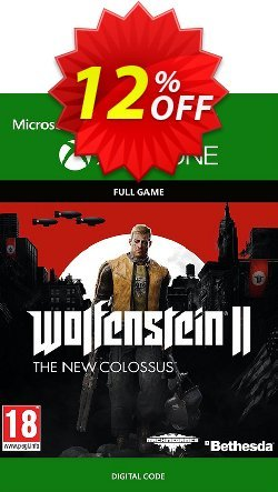 Wolfenstein 2: The New Colossus Digital Standard Edition Xbox One Coupon discount Wolfenstein 2: The New Colossus Digital Standard Edition Xbox One Deal - Wolfenstein 2: The New Colossus Digital Standard Edition Xbox One Exclusive Easter Sale offer for iVoicesoft