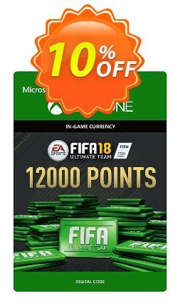 Fifa 18 - 12000 FUT Points - Xbox One  Coupon discount Fifa 18 - 12000 FUT Points (Xbox One) Deal - Fifa 18 - 12000 FUT Points (Xbox One) Exclusive Easter Sale offer for iVoicesoft