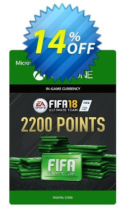 Fifa 18 - 2200 FUT Points - Xbox One  Coupon discount Fifa 18 - 2200 FUT Points (Xbox One) Deal - Fifa 18 - 2200 FUT Points (Xbox One) Exclusive Easter Sale offer for iVoicesoft