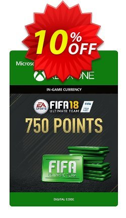 Fifa 18 - 750 FUT Points - Xbox One  Coupon discount Fifa 18 - 750 FUT Points (Xbox One) Deal - Fifa 18 - 750 FUT Points (Xbox One) Exclusive Easter Sale offer for iVoicesoft