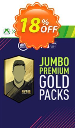 FIFA 18 - Xbox 360 - 5 Jumbo Premium Gold Packs DLC Coupon discount FIFA 18 (Xbox 360) - 5 Jumbo Premium Gold Packs DLC Deal - FIFA 18 (Xbox 360) - 5 Jumbo Premium Gold Packs DLC Exclusive Easter Sale offer for iVoicesoft