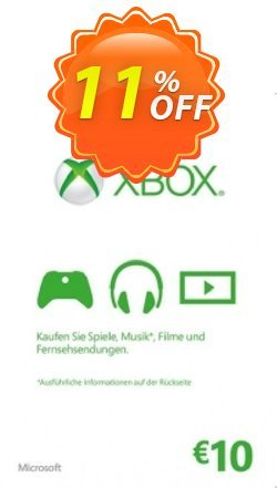 Microsoft Gift Card - 10 Euro - Xbox One/360  Coupon discount Microsoft Gift Card - 10 Euro (Xbox One/360) Deal - Microsoft Gift Card - 10 Euro (Xbox One/360) Exclusive Easter Sale offer for iVoicesoft