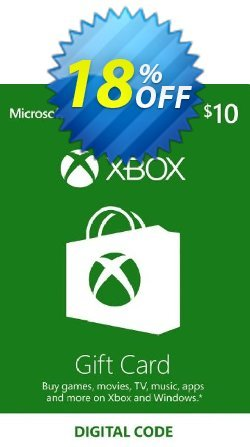 Microsoft Gift Card - $10 - Xbox One/360  Coupon discount Microsoft Gift Card - $10 (Xbox One/360) Deal - Microsoft Gift Card - $10 (Xbox One/360) Exclusive Easter Sale offer for iVoicesoft