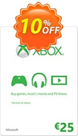 Microsoft Gift Card - 25 Euro - Xbox One/360  Coupon discount Microsoft Gift Card - 25 Euro (Xbox One/360) Deal - Microsoft Gift Card - 25 Euro (Xbox One/360) Exclusive Easter Sale offer for iVoicesoft