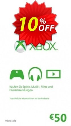 Microsoft Gift Card - 50 Euro - Xbox One/360  Coupon discount Microsoft Gift Card - 50 Euro (Xbox One/360) Deal - Microsoft Gift Card - 50 Euro (Xbox One/360) Exclusive Easter Sale offer for iVoicesoft