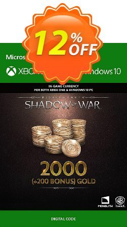 Middle-Earth: Shadow of War - 2200 Gold Xbox One Coupon discount Middle-Earth: Shadow of War - 2200 Gold Xbox One Deal - Middle-Earth: Shadow of War - 2200 Gold Xbox One Exclusive Easter Sale offer for iVoicesoft