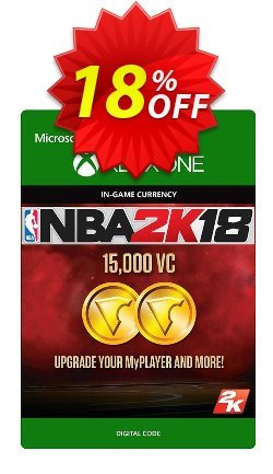 NBA 2K18 15,000 VC - Xbox One  Coupon discount NBA 2K18 15,000 VC (Xbox One) Deal - NBA 2K18 15,000 VC (Xbox One) Exclusive Easter Sale offer for iVoicesoft