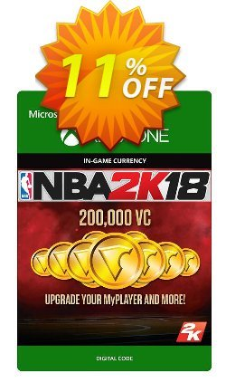 NBA 2K18 200,000 VC - Xbox One  Coupon discount NBA 2K18 200,000 VC (Xbox One) Deal - NBA 2K18 200,000 VC (Xbox One) Exclusive Easter Sale offer for iVoicesoft
