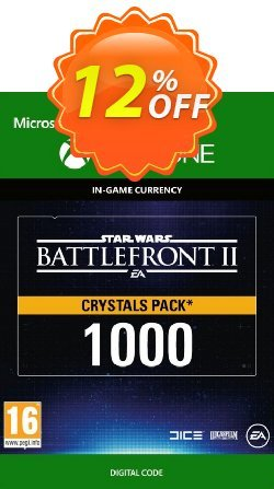 Star Wars Battlefront 2: 1000 Crystals Xbox One Coupon discount Star Wars Battlefront 2: 1000 Crystals Xbox One Deal - Star Wars Battlefront 2: 1000 Crystals Xbox One Exclusive Easter Sale offer for iVoicesoft