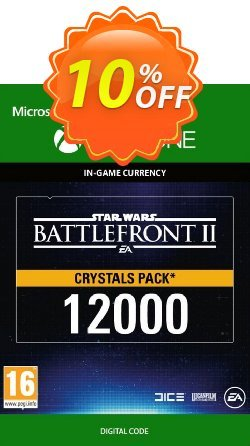 Star Wars Battlefront 2: 12000 Crystals Xbox One Coupon discount Star Wars Battlefront 2: 12000 Crystals Xbox One Deal - Star Wars Battlefront 2: 12000 Crystals Xbox One Exclusive Easter Sale offer for iVoicesoft