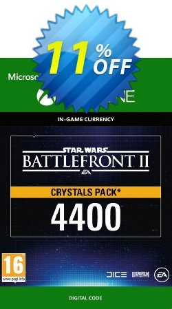 Star Wars Battlefront 2: 4400 Crystals Xbox One Coupon discount Star Wars Battlefront 2: 4400 Crystals Xbox One Deal - Star Wars Battlefront 2: 4400 Crystals Xbox One Exclusive Easter Sale offer for iVoicesoft