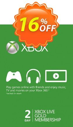 2 Day Xbox Live Gold Trial Membership - Xbox One/360  Coupon discount 2 Day Xbox Live Gold Trial Membership (Xbox One/360) Deal - 2 Day Xbox Live Gold Trial Membership (Xbox One/360) Exclusive Easter Sale offer for iVoicesoft