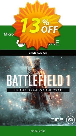 Battlefield 1: In the Name of the Tsar Expansion Pack Xbox One Coupon discount Battlefield 1: In the Name of the Tsar Expansion Pack Xbox One Deal - Battlefield 1: In the Name of the Tsar Expansion Pack Xbox One Exclusive Easter Sale offer for iVoicesoft