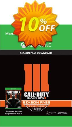 Call of Duty - COD : Black Ops III 3 Season Pass - Xbox One  Coupon discount Call of Duty (COD): Black Ops III 3 Season Pass (Xbox One) Deal - Call of Duty (COD): Black Ops III 3 Season Pass (Xbox One) Exclusive Easter Sale offer for iVoicesoft