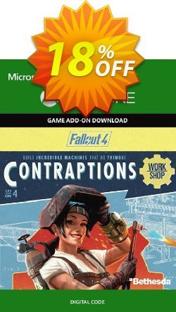 Fallout 4: Contraptions Workshop Content Pack Xbox One Coupon discount Fallout 4: Contraptions Workshop Content Pack Xbox One Deal - Fallout 4: Contraptions Workshop Content Pack Xbox One Exclusive Easter Sale offer for iVoicesoft