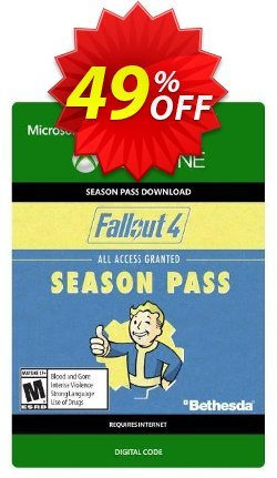 Fallout 4 Season Pass - Xbox One  Coupon discount Fallout 4 Season Pass (Xbox One) Deal - Fallout 4 Season Pass (Xbox One) Exclusive Easter Sale offer for iVoicesoft