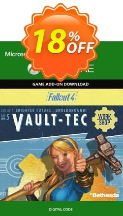 Fallout 4: Vault-Tec Workshop Content Pack Xbox One Coupon discount Fallout 4: Vault-Tec Workshop Content Pack Xbox One Deal - Fallout 4: Vault-Tec Workshop Content Pack Xbox One Exclusive Easter Sale offer for iVoicesoft