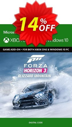 Forza Horizon 3: Blizzard Mountain Expansion Pack Xbox One Coupon discount Forza Horizon 3: Blizzard Mountain Expansion Pack Xbox One Deal - Forza Horizon 3: Blizzard Mountain Expansion Pack Xbox One Exclusive Easter Sale offer for iVoicesoft