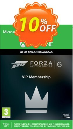 Forza Motorsport 6 VIP Membership Xbox One - Digital Code Coupon discount Forza Motorsport 6 VIP Membership Xbox One - Digital Code Deal - Forza Motorsport 6 VIP Membership Xbox One - Digital Code Exclusive Easter Sale offer for iVoicesoft