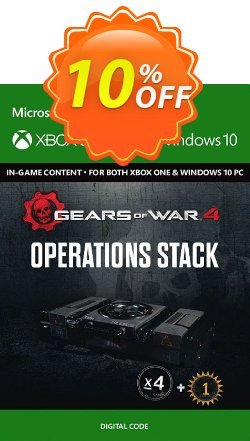 Gears of War 4 : Operations Stack Content Pack Xbox One / PC Coupon discount Gears of War 4 : Operations Stack Content Pack Xbox One / PC Deal - Gears of War 4 : Operations Stack Content Pack Xbox One / PC Exclusive Easter Sale offer for iVoicesoft