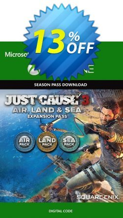 Just Cause 3 Land, Sea, Air Expansion Pass Xbox One Coupon discount Just Cause 3 Land, Sea, Air Expansion Pass Xbox One Deal - Just Cause 3 Land, Sea, Air Expansion Pass Xbox One Exclusive Easter Sale offer for iVoicesoft